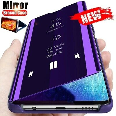 $ CDN8.56 • Buy Leather Flip Mirror Case Cover For Samsung Galaxy S21 Ultra Plus S20 FE S10 S9