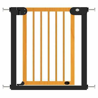 £48.56 • Buy Baninni Baby Safety Gate Metal And Wood Baby Safety Door Barrier Stair Fence
