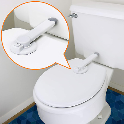 £10.08 • Buy Toilet Lock Child Safety Ideal Baby Proof Toilet Seat Lock With 3M Adhesive