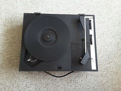 £19.50 • Buy Vintage Fidelity HF42 1970s Portable Record Player/Turntable