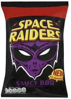 £8.89 • Buy Space Raiders Saucy BBQ - 25g - Pack Of 8