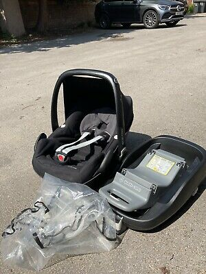 £18 • Buy Maxi Cosi Pebble Baby Car Seat With Isofix Base And Rain Cover - Collection Only