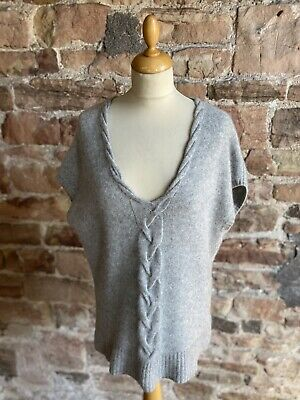 £65 • Buy N.Peal 100% Pure Cashmere Cap Sleeved V Neck Top. FREE UK POST