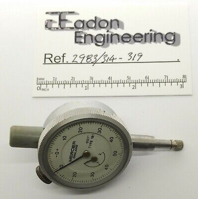 £22.99 • Buy Mercer Plunger Type Dial Test Indicator (DTI), Imperial 0.001  Res. Type 181.