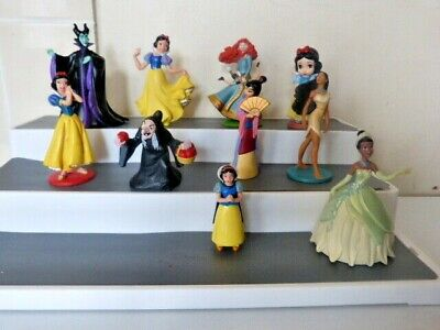 £15 • Buy Disney Bundle Toy Figures Maleficent Prince Mixed Princess Old Witch Snow White