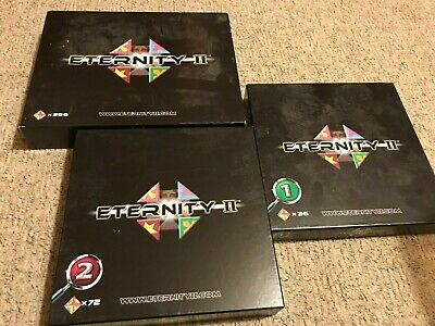 £12 • Buy Eternity II (2) 3 Sets Puzzle Board Game