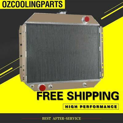 AU359 • Buy 4 Rows Aluminum Radiator For Ford F100 F150 F250 F350 Bronco Truck 1966-1979 67
