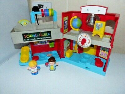£24 • Buy Fisher Price Little People School House Playset And Figures Sound