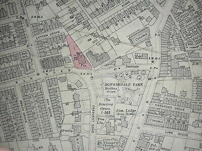 £18.50 • Buy Old Antique Ordnance Map 1927 Lancashire XCIX.13 Seaforth & Bootle Liverpool