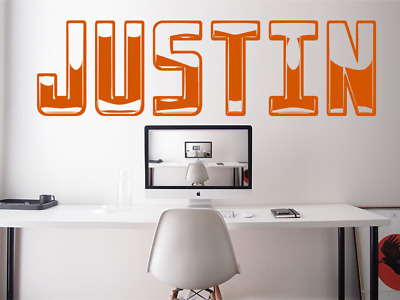$ CDN34.63 • Buy ANY NAME PERSONALISED GAMERTAG Gaming Font Kids Wall Vinyl Decal Sticker V877