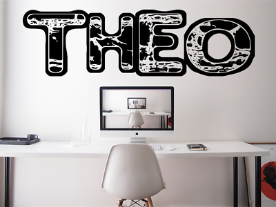 $ CDN34.63 • Buy ANY NAME PERSONALISED GAMERTAG Gaming Font Kids Wall Vinyl Decal Sticker V879