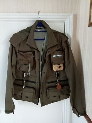 £10 • Buy Ron Thompson Fly Fishing Jacket With Accessories