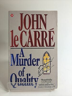 £5 • Buy John Le Carre - A Murder Of Quality, Published By Coronet Books 1962 (A160)
