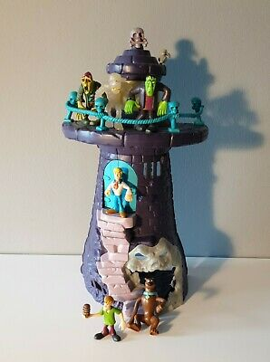 £19.99 • Buy Scooby Doo Haunted Lighthouse Tower Playset & Figures Hanna Barbera (A01)