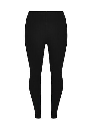 £8.99 • Buy EX EVANS Ladies Womens Thick Black Fitted Ponte Ankle Leggings Size 16 18 26