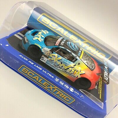 £21 • Buy Scalextric Audi R8 LMS Ultra One World Collectable Slot Car 12073 CP