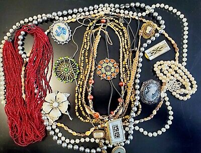 $ CDN12.45 • Buy Vintage Estate Jewelry Lot Some Signed