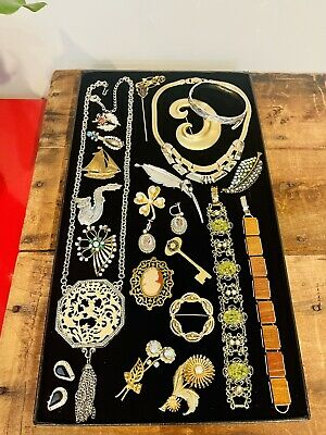 $ CDN29.88 • Buy Antique Vintage Jewelry Lot Unresearched Costume Estate Buy Varied Signed Clip