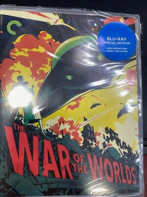 £34.99 • Buy War Of The Worlds (1953)  REGION  A   BLU RAY  From Criterion Collection