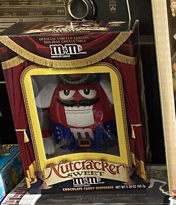 $15 • Buy M&M's MM Nutcracker Sweet Candy Dispenser SPECIAL LIMITED EDITION NEW