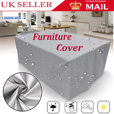 £11.99 • Buy Garden Heavy Duty Waterproof Patio Furniture Cover For Outdoor Rattan Table Cube
