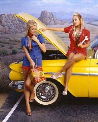 £0.86 • Buy Paris Hilton & Nicole Richie With American Oldtimer Classic Limited Collection