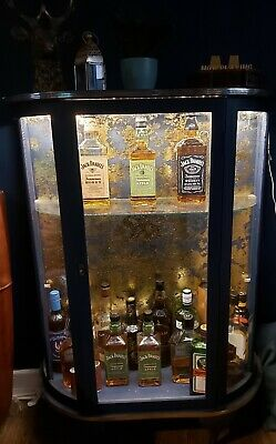 £30 • Buy Whiskey Gin Cocktail Display Cabinet Bar With Lights