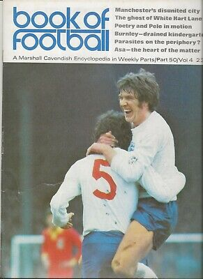 £3.50 • Buy Book Of Football Marshall Cavendish 1972 Part 50 The Clubs Features Burnley