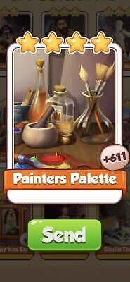 £1.95 • Buy X 5 Painters Palette Cards From Artists Set Coin Master Card ( Fast Send )