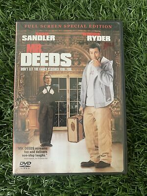$2 • Buy Mr. Deeds (Full Screen Special Edition) - DVD - VERY GOOD