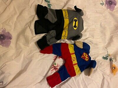 £0.99 • Buy Set Of Two Dog Outfits Batman And Robin
