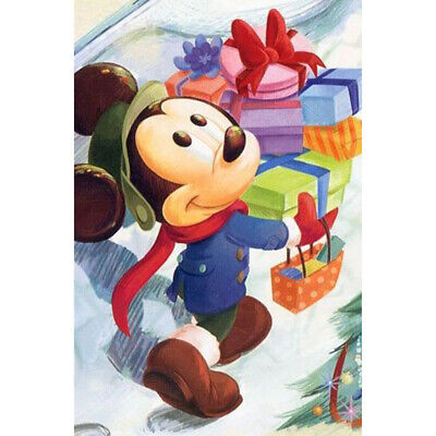 £6.92 • Buy 5D DIY Diamond Painting Mickey Mouse Full Drill Embroidery Cross Stitch Gift