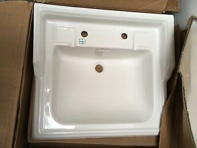 £84 • Buy Burlington Classic Basin ONLY. BNIB. 65cm Squared. 2 Tap Holes. Collection Only.