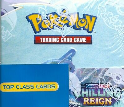 AU170 • Buy Pokemon  TCG Sword And Shield Chilling Reign Factory Sealed 36 Booster Box