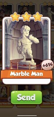 £1.95 • Buy Coin Master Artists, X 5 Marble Man Card (Fast Sending)