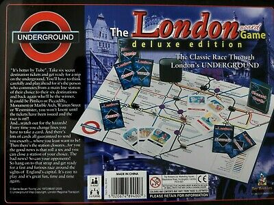£9.99 • Buy The London Board Game Deluxe  Edition Underground Train Family Game City England