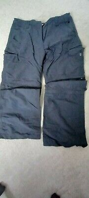 £4 • Buy Ladies Peter Storm Trousers/ Zip Off Shorts,,3/4 Trousers  Walking,Size 12 L