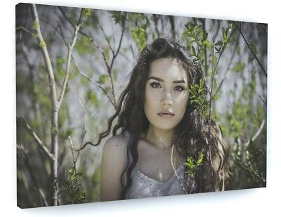 £74.70 • Buy Stunning Model Woodland Forest Woman Canvas Picture Print #3936