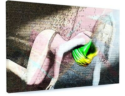 £72.70 • Buy Stunning Abstract Model Art Canvas Picture Print #3639