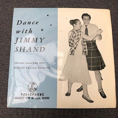 £4.99 • Buy Dance With Jimmy Shand! (7  Vinyl P/S) -Parlophone-GEP 8641-UK-VG/VG