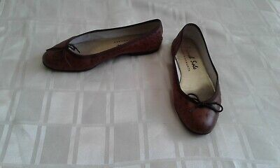 £4.99 • Buy Ladies French Sole By Jane Winkworth Tan Pumps Size 7