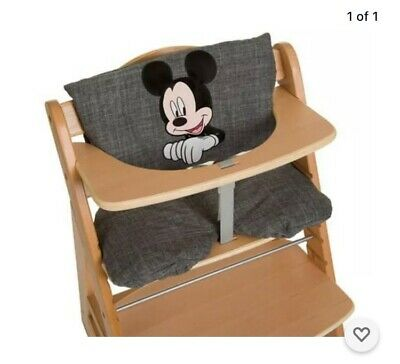 £25.50 • Buy Hauck Disney  Mickey Mouse Alpha High Chair Pad Deluxe Seat Cushion
