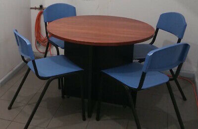 AU380 • Buy Smart Wooden Dining Table Set With 4 Chairs
