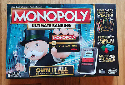£16.99 • Buy Hasbro Monopoly Ultimate Banking Family Board Game Classic Trading Electronic