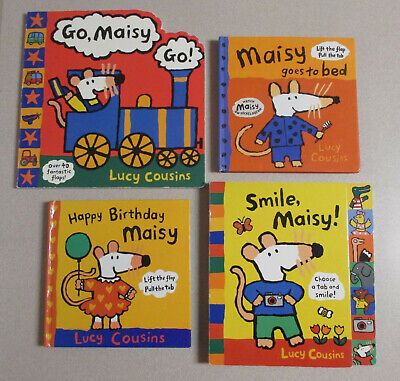 $9.95 • Buy Lot Of 4 MAISY Mouse Picture Books By Lucy Cousins - All Hardcover -