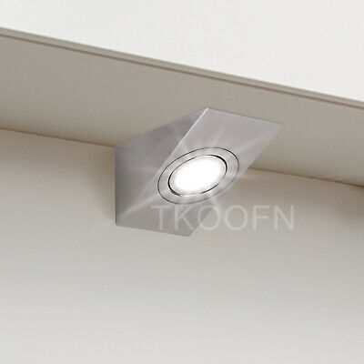 £9.29 • Buy Led Mains Kitchen Under Cabinet Cupboard Counter Wedge Light Unit Lamp Lights