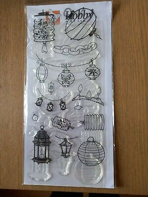 £4.50 • Buy Hobby Art Lights And Lanterns Clear Stamp Set New