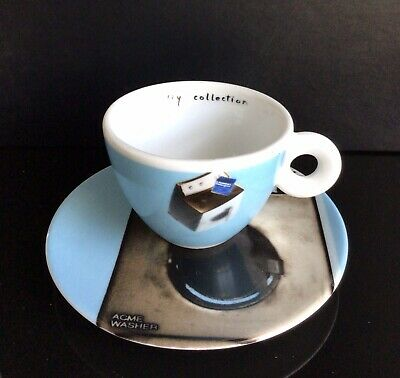 £33.50 • Buy Illy Norma J Art Collection 2002,signed&numbered Cappuccino Cup&Saucer,IPA Italy