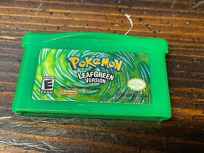 $99.99 • Buy Pokemon: Leaf Green Version (Game Boy Advance, 2004) Authentic! Tested & Working