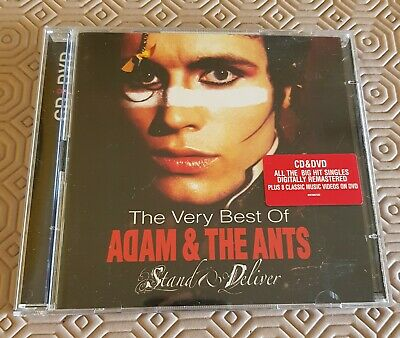 £15.95 • Buy Adam & The Ants - The Very Best Of… Stand & Deliver Music CD + DVD